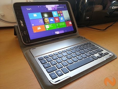 Acer Iconia W4 Unboxing and Review