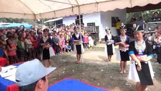 nkauj hmong laos dance at lao new year 2013