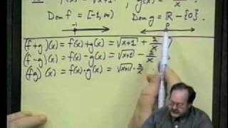 College Algebra - Lecture 13 - Functions&Their Graphs