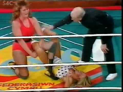 Tina Starr vs Rusty Blair (assisted by Nicky Monroe)