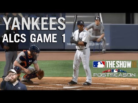 Video: MLB The Show '18: Episode 31: YANKEES ALCS Game 1