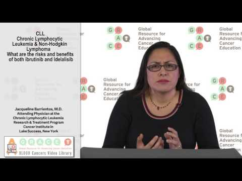 What are the risks and benefits of both ibrutinib and Idelalisib?