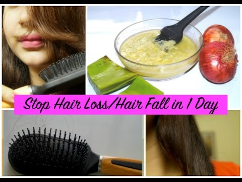 Stop Hair Loss   Hair Fall in 1 Day - Secret Hair Mask + 4 Effective Tips to Control  Hair Fall