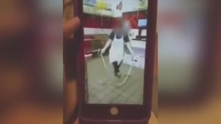 Disturbing Snapchat Video Shows Jimmy John's Workers Jumping Rope With Dough full download video download mp3 download music download