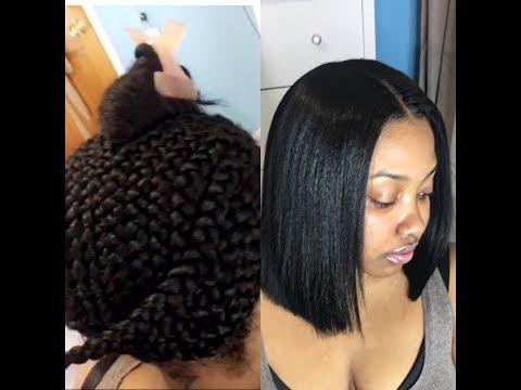 How To Blunt Cut Bob Sew In Mp3 Download Naijaloyal Co