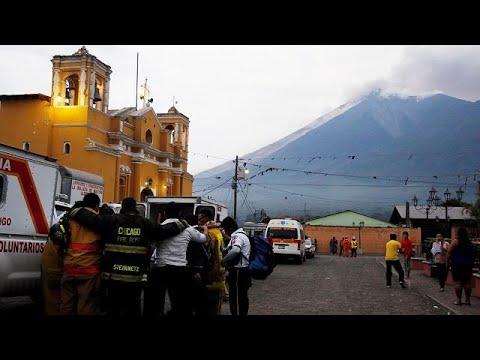 Guatemala: 25 Tote nach Vulkanausbruch - Lavaströme ...