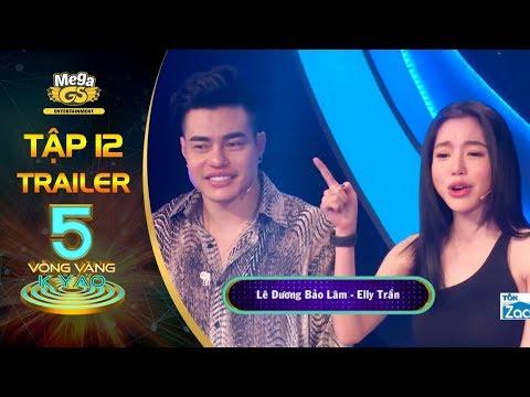 Elly Trần, Dương Bảo Lâm hào hứng đối đầu cặp đôi tiền bối | 5 Vòng Vàng Kỳ Ảo | Tập 12 | Trailer - Thời lượng: 52 giây.