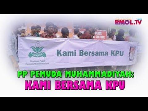 PP Pemuda Muhammadiyah: Kami Bersama KPU