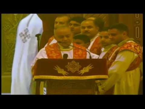 القداس الالهي ليوم الأحد من كاتدرائية مارمرقس بالكويت يرأس الصلاة الأنبا / أنطونيويس