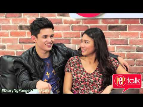PEPtalk. James Reid And Nadine Lustre Feel Lucky To Be Each Others Love Team
