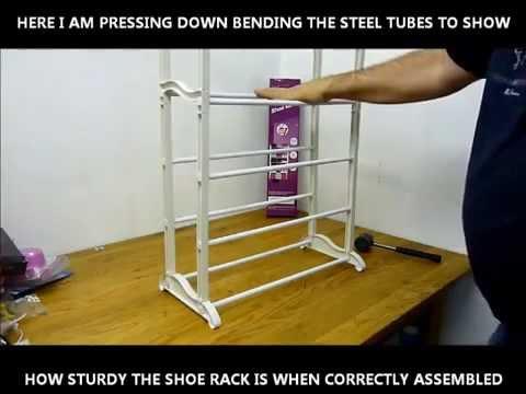 Stainless Steel Amazing Shoe Rack
