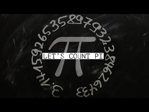 Pi Day 3.14 - Let's Count Pi - March 14th