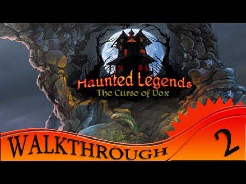 Haunted Legends: The Curse of Vox - Walkthrough #2 | Circle Pieces