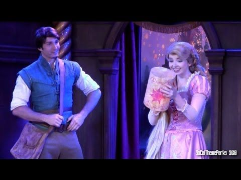 tangled - [HD] Full Up-Close view of Tangled Storytelling Show at Disneyland. Rapunzel and Flynn Rider in a retelling of Tangled. Funny Tales of Tangled - Tangled Stor...