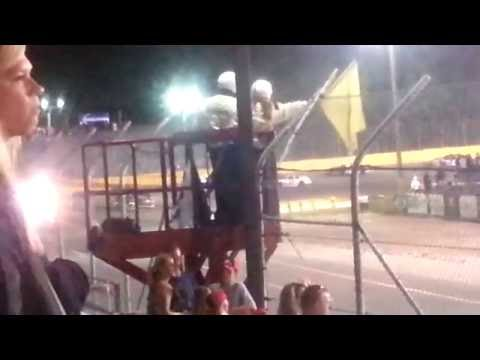 2016 Berlin ARCA 200 - Big Crash Aftermath