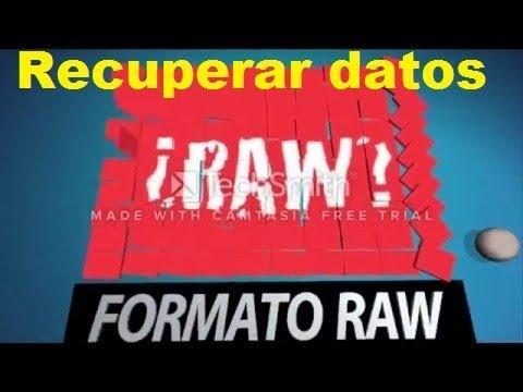 Video Recuperar archivos de un disco en RAW a NTFS download in MP3, 3GP, MP4, WEBM, AVI, FLV January 2017
