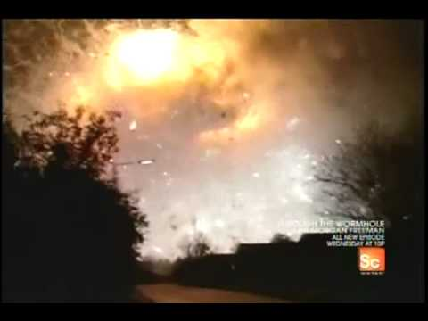 Destroyed In Seconds - Fireworks Explosion