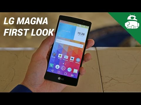 LG Magna hands-on and first impressions