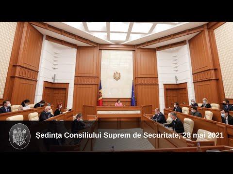 Ședința Consiliului Suprem de Securitate