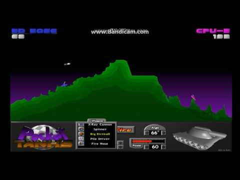 Pocket Tank Deluxe Playing old games
