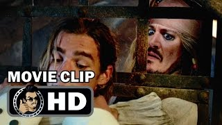 PIRATES OF THE CARIBBEAN: DEAD TELL NO TALES Movie Clip - Looking For a Pirate (2017) Johnny Depp by JoBlo HD Trailers