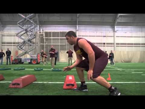 Eric Fisher Pro Day Highlights video.