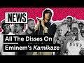Download Lagu All The Disses On Eminem's 'Kamikaze'   Genius News Mp3 Free