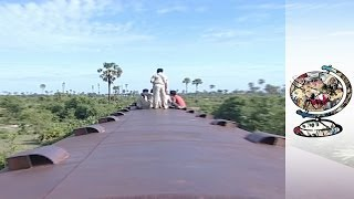 A Cambodian Railway Produced with Local Content (Literally)