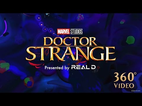 Doctor Strange (Viral Video 'Google Tilt brush - Steve Teeple')