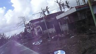 On way back to Ormoc City, this is Mcarthur, Leyte now.