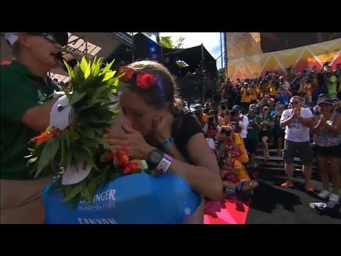 Γιόρτασε τον τίτλο του Ironman… με πρόταση γάμου