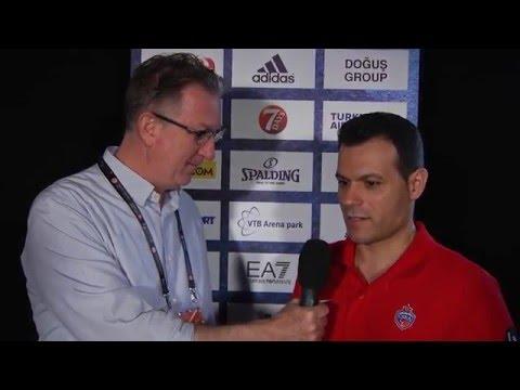 Pre-game Interview: Coach Itoudis, CSKA Moscow