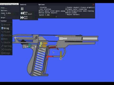 Как сделать пистолет в powder toy - Приоритет