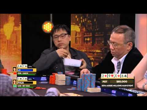 "$1,000,000 poker pot between two Asian ""Businessmen"""
