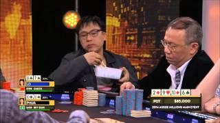Video Two Asian Businessmen Clash in $1 MILLION DOLLAR pot (Real Money) [Funny] MP3, 3GP, MP4, WEBM, AVI, FLV Maret 2019