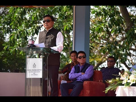Dr. Chaltonlien Amo's Speech @ HPC (D) Arms Laying Ceremony