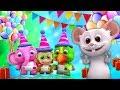 selamat ulang tahun lagu   Lagu Anak   kartun anak   Little Treehouse   Happy Birthday Songs