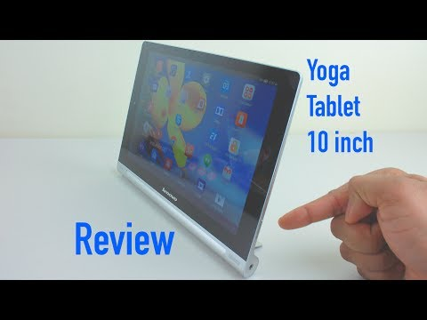 Lenovo Yoga Tablet 10 Review – 10 inch Android Tablet – with Latest Update – Lenovo Android Tablet
