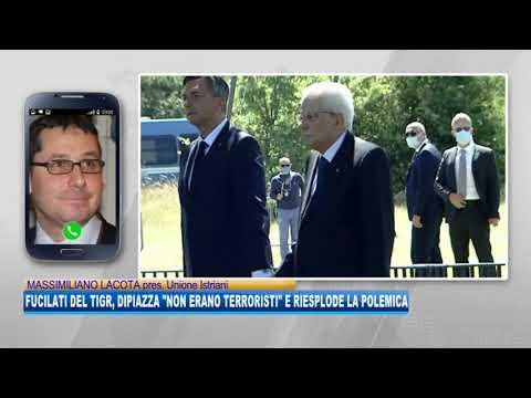 """07/09/2020 - FUCILATI DEL TIGR: DIPIAZZA """"NON ERANO TERRORISTI"""" E RIESPLODE LA POLEMICA"""