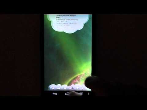 Video of Electric Sheep Live Wallpaper