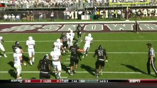 Christine Michael vs Auburn & Mississippi State (2012)