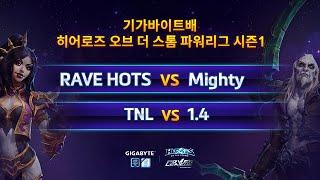파워 리그 8강 5일차 1경기 RAVE HOTS VS Mighty