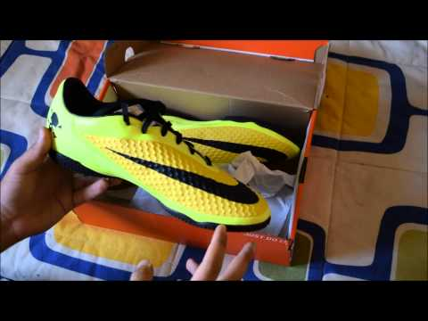 Botas Nike Hypervenom Phelon IC Review - En Español (HD)