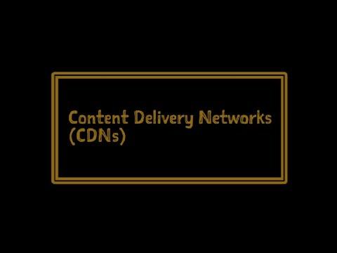 Content Distribution Networks