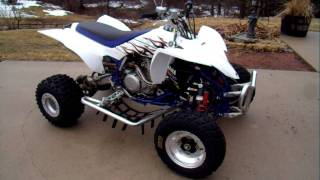 6. 2007 Yfz 450 two brothers pipe