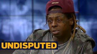 Lil Wayne explains retirement rumors, 'Undisputed' theme song | UNDISPUTED
