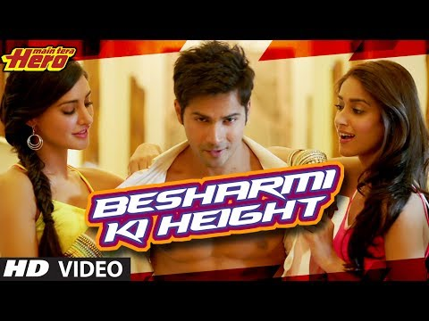 free download Besharmi Ki Height Song Main Tera Hero 720p hd, 420p video song | Besharmi Ki Height Song Main Tera Hero mp3 song download | Besharmi Ki Height Song Main Tera Hero 320kb, 128kb, mp3 download | songspk | djmaza