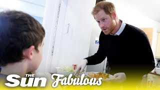 Dad-to-be Prince Harry has some parenting practice