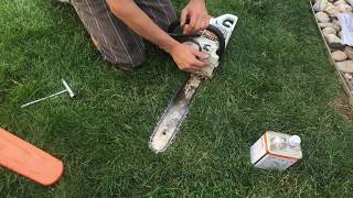 7. Tips On MS251 STIHL Chainsaw