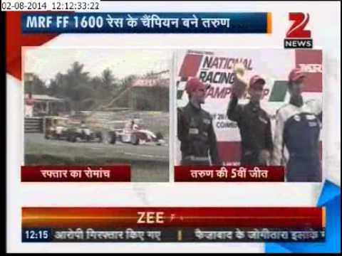 MRF F1600 - Zee News Coverage - Part 2